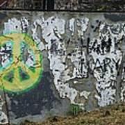 Peace 2012 #1 Art Print by Todd Sherlock