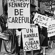 Peace Protest, 1962 Art Print
