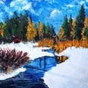 Peaceful Creek 2012 Art Print