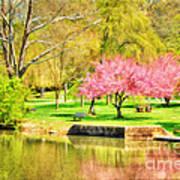 Peaceful Spring II Art Print