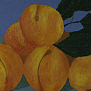 Peaches Art Print