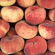 Peaches Art Print by Jane Rix