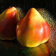 Pear Aura Art Print