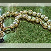 Pearl Bracelet Art Print