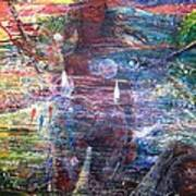 Pearl Od Thw Caribbean - La Perla Del Caribe Art Print by Miguel Conesa Osuna