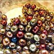 Pearls In A Pile  Art Art Print