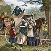 Peddlers Wagon, 1868 Art Print