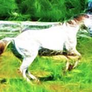 Pegasus Impression Art Print