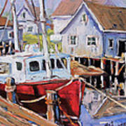 Peggy S Cove 02 By Prankearts Art Print