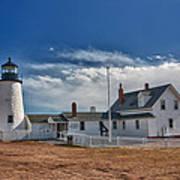 Pemaquid Point Lighthouse 4800 Art Print