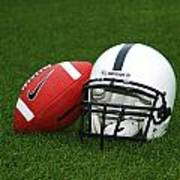 Penn State Football Helmet Print by Joe Rokita