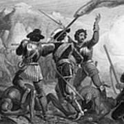 Pequot War, 1636-3 Art Print