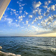 Perfect Evening Sailing On The Charleston Harbor Art Print by Dustin K Ryan