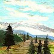 Perfect Pines Peak Art Print