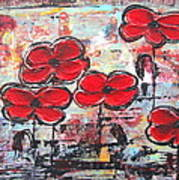 Perfect Poppies Art Print