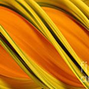 Peripheral Streak Image Of Squash Art Print