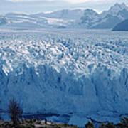 Perito Moreno Glacier, Tourist Overlook Art Print