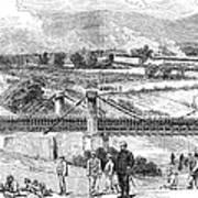 Peru: Chilean Army, 1881 Art Print