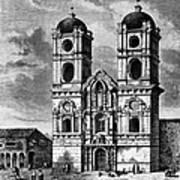 Peru: Jesuit Church, 1869 Art Print