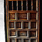 Peruvian Door Decor 18 Art Print