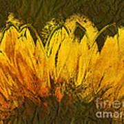 Petales De Soleil - A43t02b Art Print