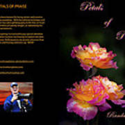 Petals Of Praise Books By Randall Branham Art Print