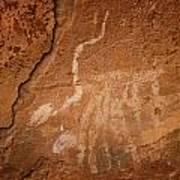 Petroglyph Iv Art Print