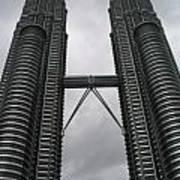 Petros Towers Surreal Art Print