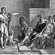 Phaedra And Hippolytus Art Print