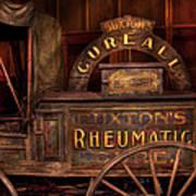 Pharmacy - The Rheumatic Cure Wagon  Art Print
