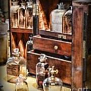 Pharmacy - Medicine Cabinet Art Print