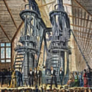 Philadelphia Expo: Engine Art Print