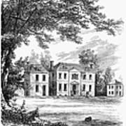 Philadelphia: Mansion Art Print