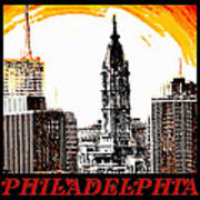 Philadelphia Poster Art Print