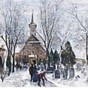 Philadelphia: Winter, 1873 Art Print