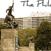 Philadelphian View From Museum Art Print