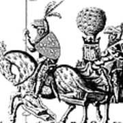 Philip II & Richard I Art Print