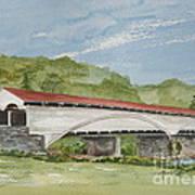 Philippi Covered Bridge  Art Print