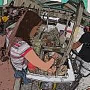 Philippines 91 Street Food Art Print