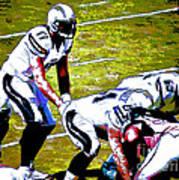 Phillip Rivers Quarterback Art Print
