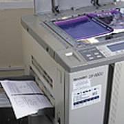 Photocopier Art Print