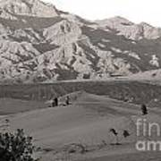 Photographers Capturing Images Of The Dunes At Death Valley  Art Print