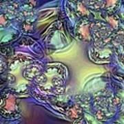 Phytoplankton Art Print