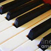 Piano Keys . V2 Art Print