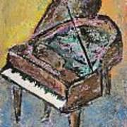 Piano Study 2 Art Print