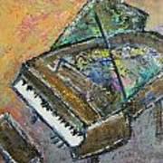 Piano Study 4 Art Print