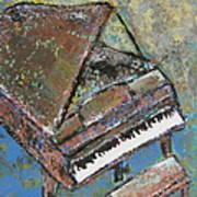 Piano Study 5 Art Print