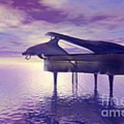 Piano's Lesson Art Print