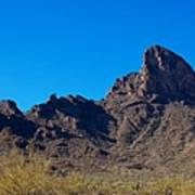 Picacho Peak - Arizona Art Print