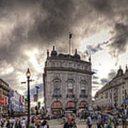 Piccadilly Panorama Art Print